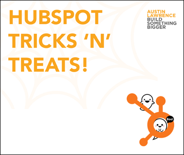 HubSpot Tricks 'n' Treats Webinar